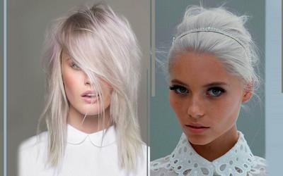 15 Zdjęć Które Udowadniają że Białe I Siwe Włosy Są Supersexy