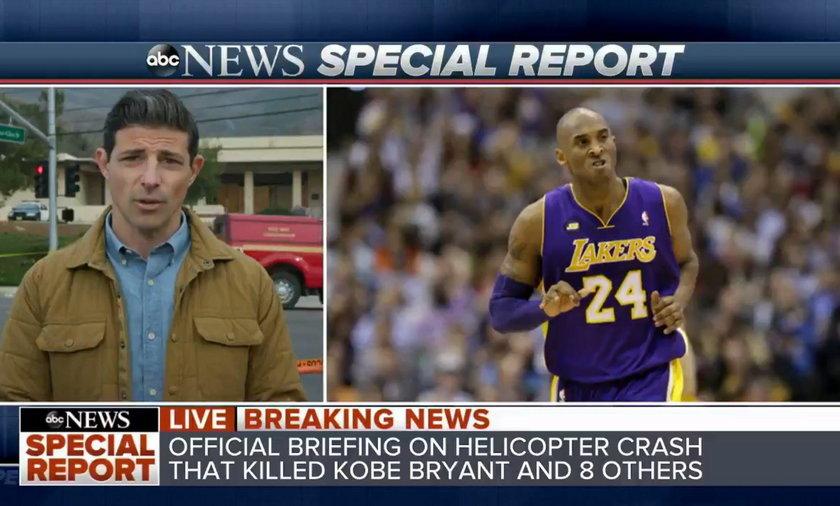 Koszmarna pomyłka dziennikarza ws. Kobego Bryanta. Został zawieszony