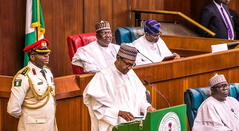 President Buhari presents $33.8 billion 2020 budget estimates on 7.5% VAT to lawmakers