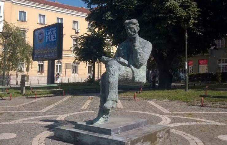 Skulptura Nikole Tesle