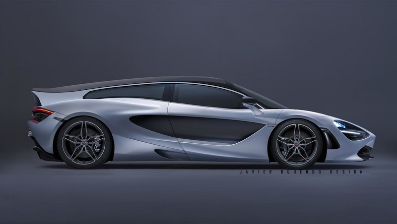 McLaren 720S w wersji Shooting Brake?