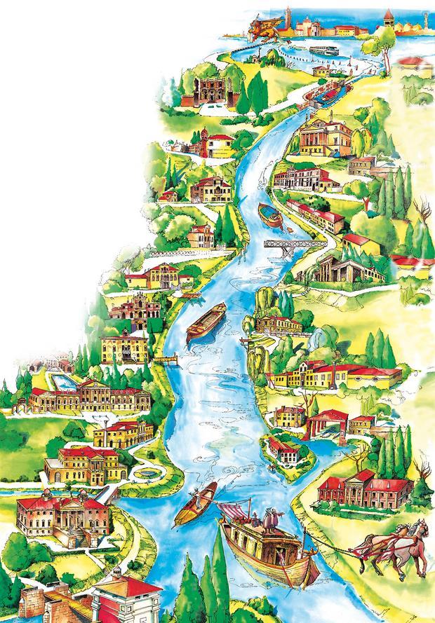 Szlak Riviera del Brenta