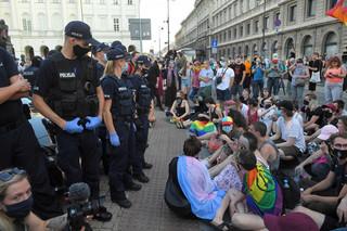 Policja: Pierwsze osoby zatrzymane po piątkowym proteście zostały już zwolnione