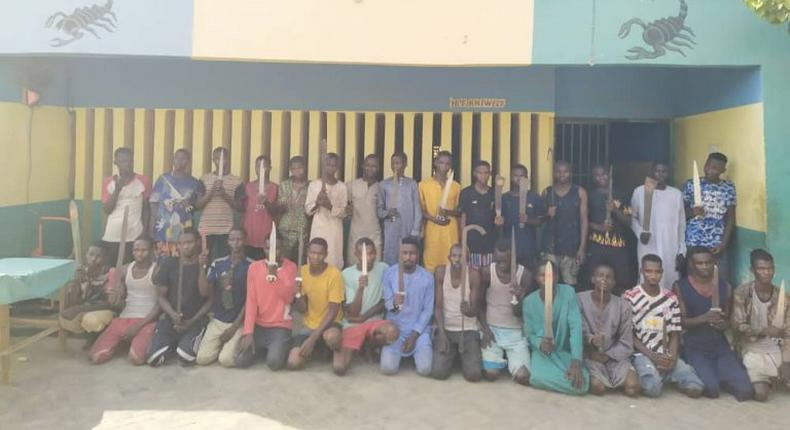 Police rescue girl confined for 10 years, arrest 297 suspected criminals