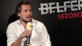 """Maciej Stuhr i Mirosław Haniszewski o 2. sezonie serialu """"Belfer"""""""