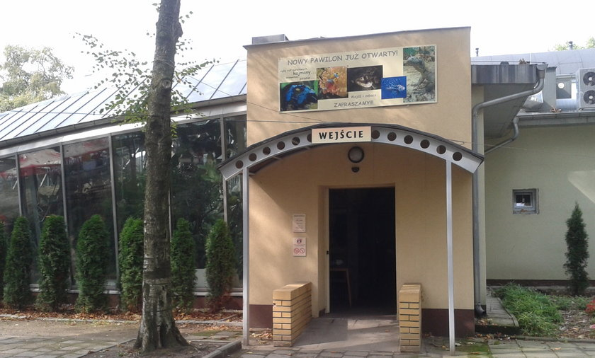 Nowy pawilon w zoo
