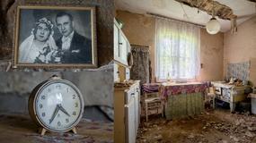 Opuszczona chata w powiecie jarocińskim pełna ludzkich historii i wspomnień