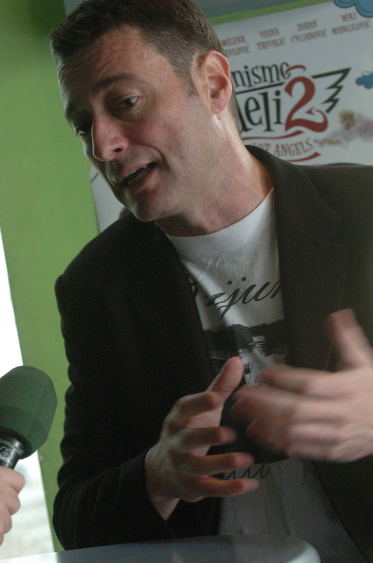"Srđan Dragojević, reditelj ""Parade"""