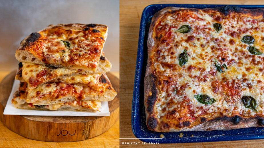Pizza z blaszki