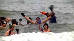 Zimowa Jazda - Morsy opanowały plaże w Ustce!