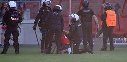 Skandal po spotkaniu Widzewa. Kibice zaatakowali swoich piłkarzy