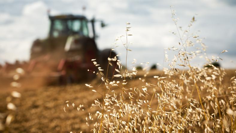 W ramach budżetu kupiono też ciągnik rolniczy