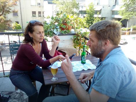 Lorenci u razgovoru sa našom novinarkom u Ljubljani