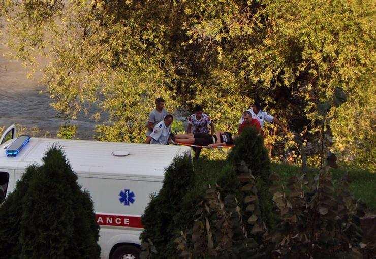 Zvornik hitna pomoc spasavanje migranta