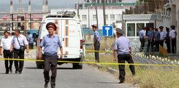 Zamachowiec wysadził sie przed ambasadą. Wielu rannych