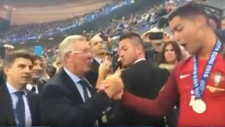 Ferguson: Ronaldo najlepszym piłkarzem swojej generacji