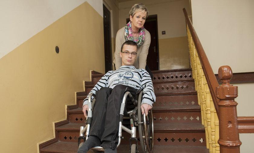 Sabina Będkowska z synem