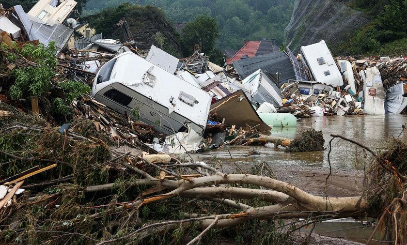 Katastrofalne powodzie w Niemczech