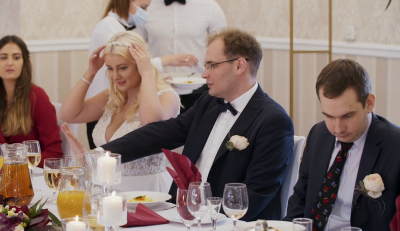 """""""Boda a primera vista"""".  Julia y Tomasz en la boda"""