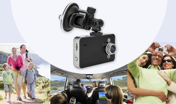 HD auto kamera