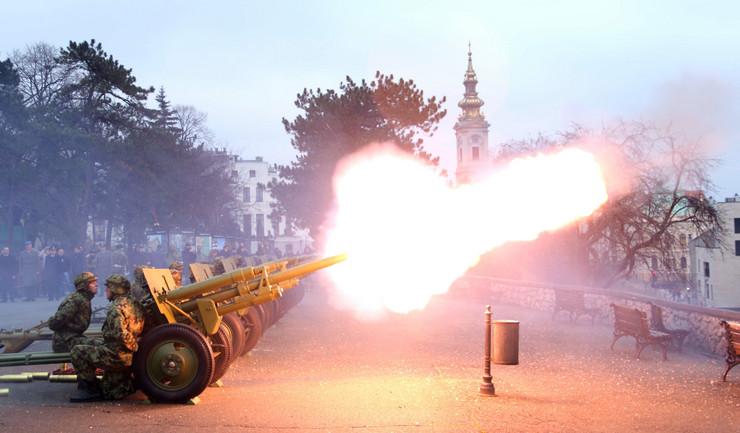 Pocasna paljba, foto Tanjug, Ministarstvo odbrane