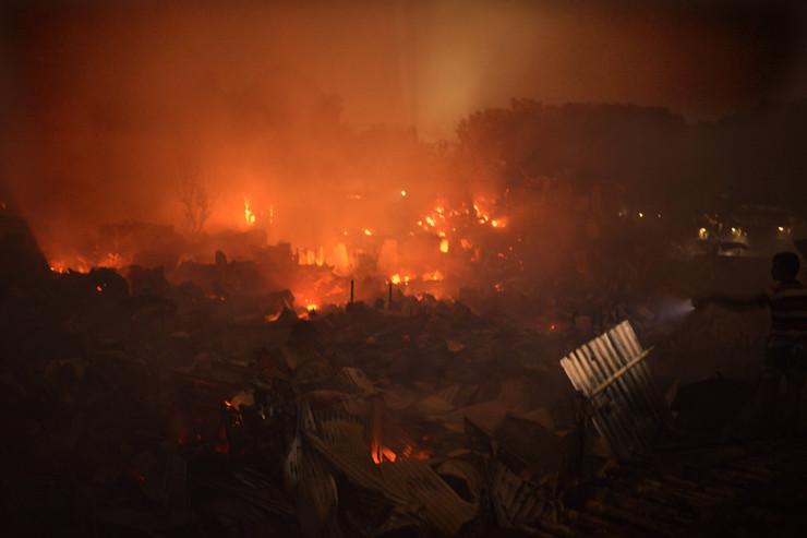 Bangladeš, požar