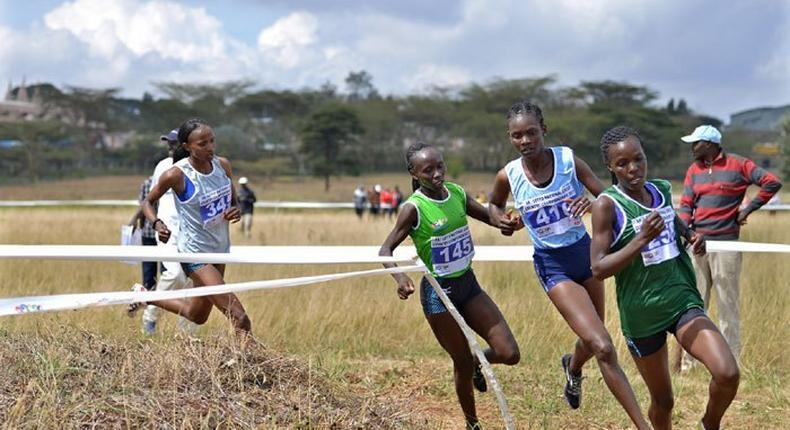 Kenyan Athletes during a previous event