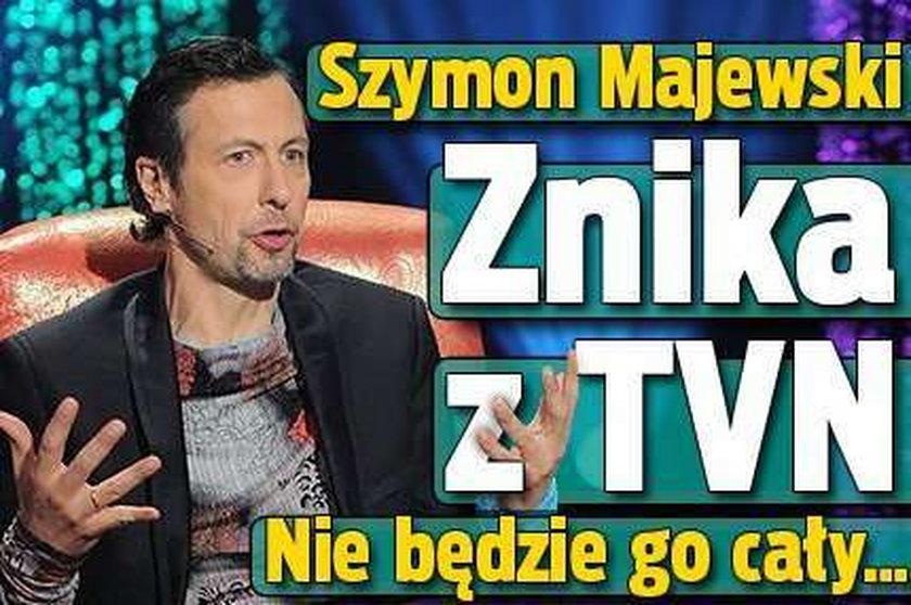 Szymon Majewski znika z TVN. Nie będzie go cały...