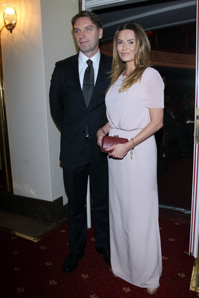 Tomasz Lis z żoną