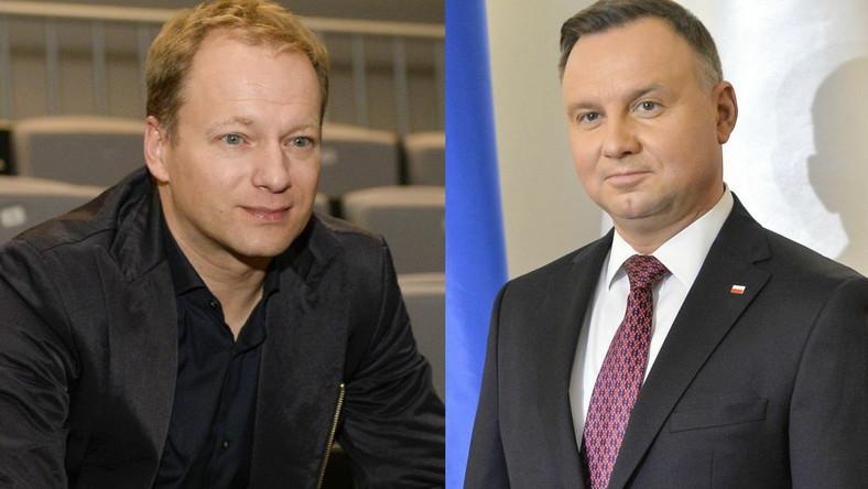 Maciej Stuhr, Andrzej Duda