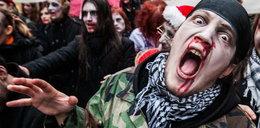 Marsz zombie w Polsce. Chora moda czy... FOTO