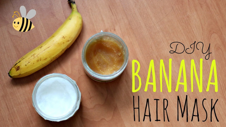 banana hair mask helps your hair grow longer [YouTube]