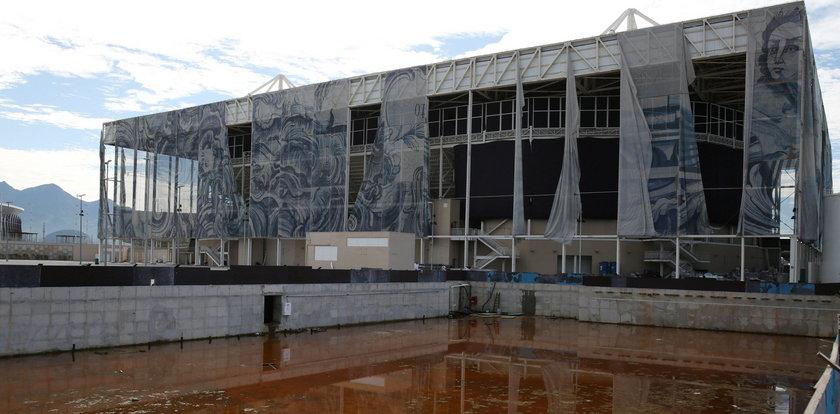 Brazylijskie obiekty olimpijskie w ruinie. GALERIA