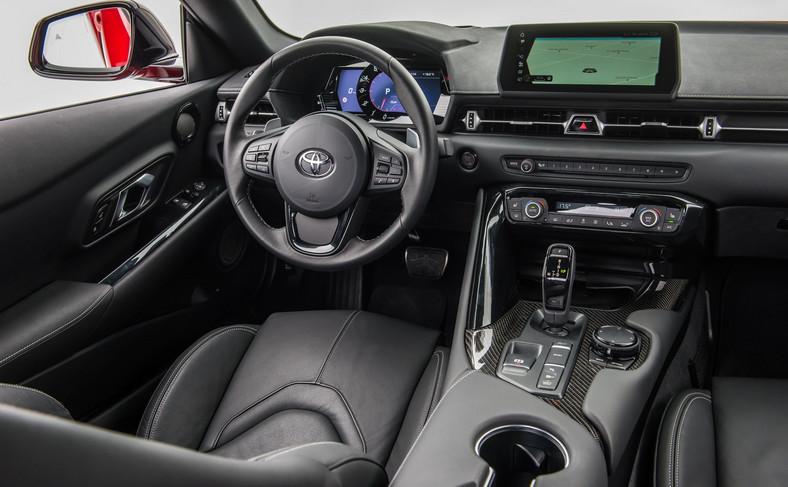 Toyota GR Supra z elementami BMW Z4?
