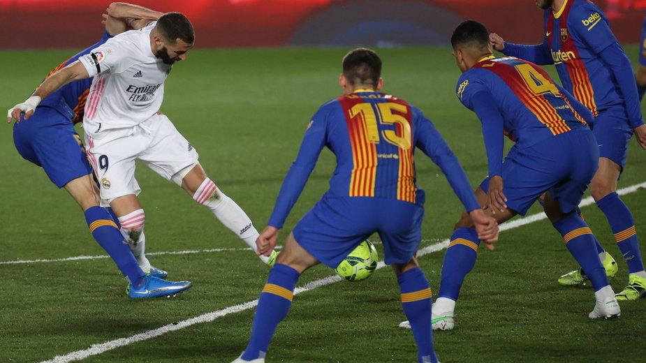 Mecz Real Madryt - FC Barcelona, 10.04.2021 r.