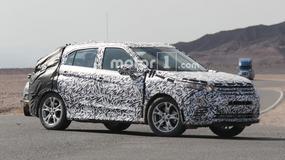 Nowy SUV Mitsubishi przyłapany podczas testów