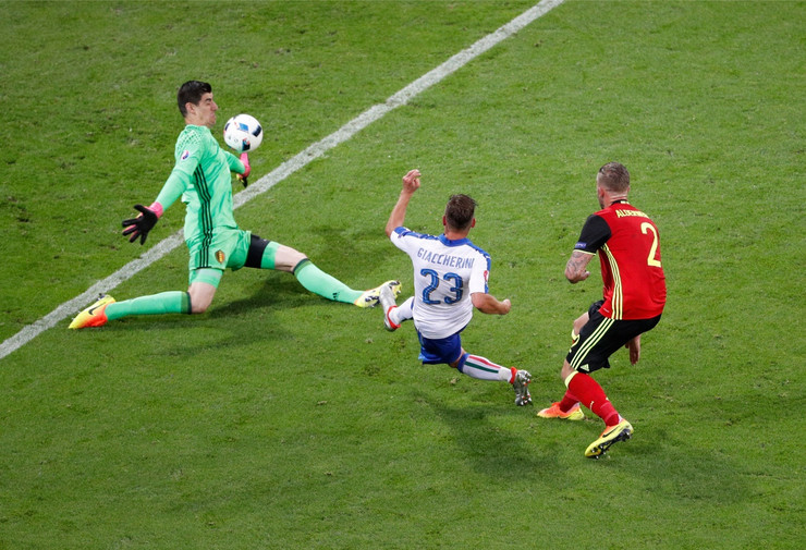 Fudbalska reprezentacija Italije, Fudbalska reprezentacija Belgije