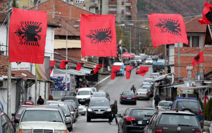 Kosovo, Dan zastave, Kosovska Mitrovica