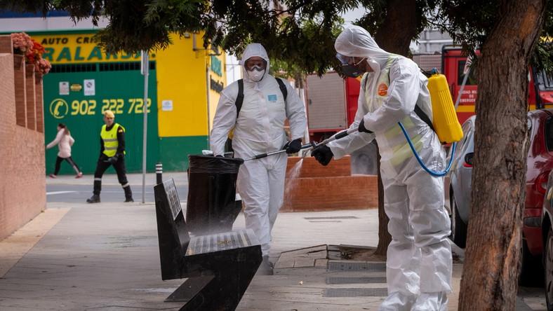 Walka z koronawirusem w Hiszpanii