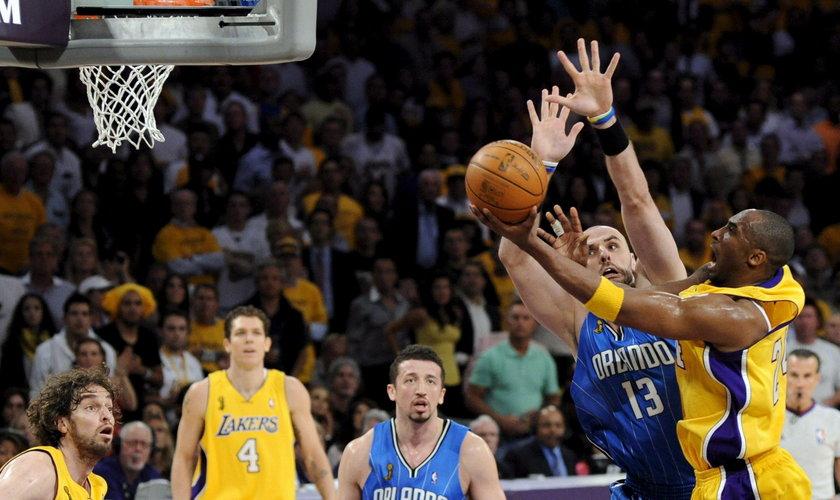 Marcin Gortat grał z Kobe Bryantem