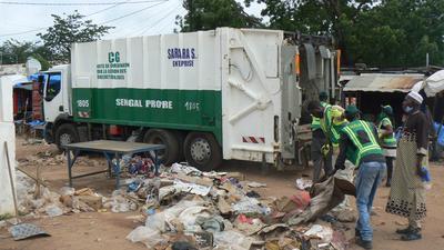 Tabaski : 6 000 tonnes de déchets collectées à Dakar