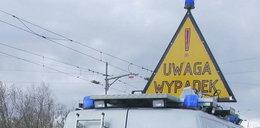 Niebezpieczny pościg za 22-latkiem. Ranni policjanci