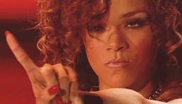 Rihanna saying no [Credit: Nickie Petraki]