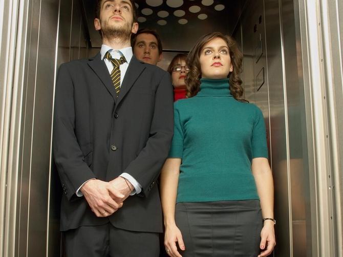 Da li u liftu ćutite ili, kao Englezi, pričate o vremenu?