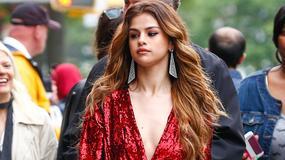 Niezadowolona Selena Gomez podczas sesji zdjęciowej