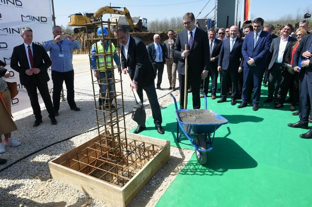 Industrijski park Kragujevac - kamen temeljac