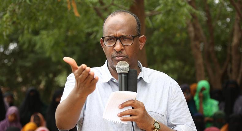 Former National Assembly Majority Leader Aden Duale