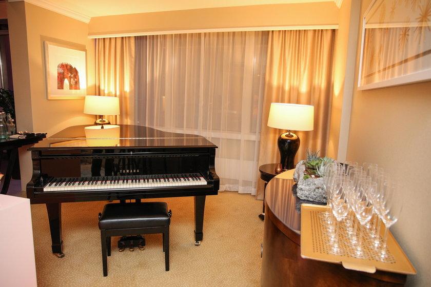 Apartament prezydencki w Hotelu Marriott w Warszawie