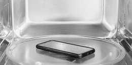Czy można dezynfekować telefon w mikrofalówce?