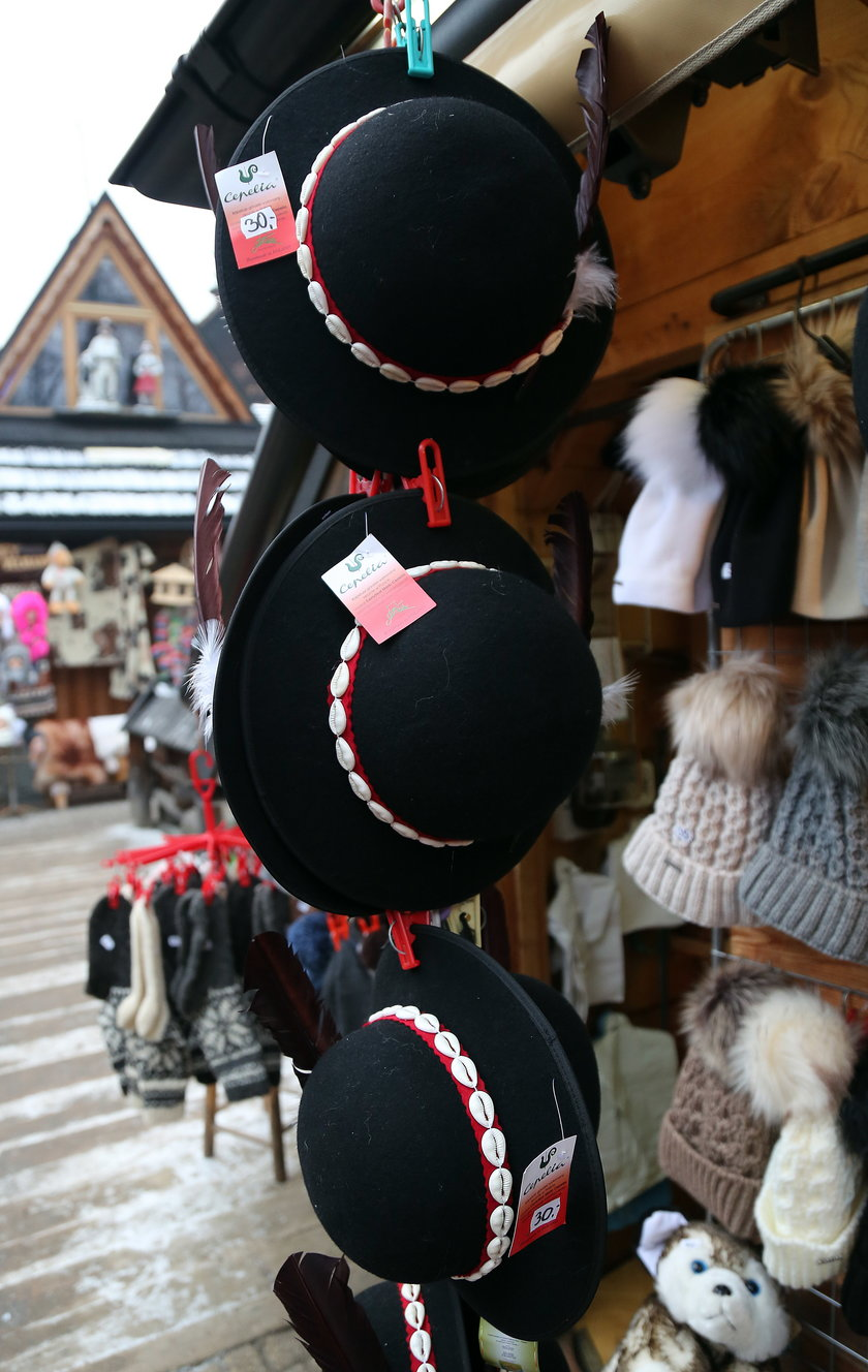 Góralskie czapki